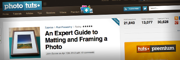 An Expert Guide to Matting and Framing a Photo  Top 50 Photography Posts 2012