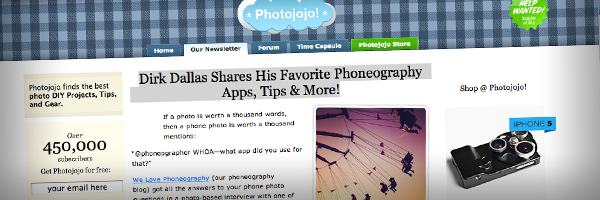 Dirk Dallas Shares His Favorite Phoneography Apps Tips More Top 50 Photography Posts 2012