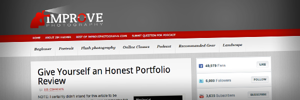 Give Yourself an Honest Portfolio Review Top 50 Photography Posts 2012