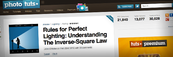 Rules for Perfect Lighting Understanding The Inverse Square Law  Top 50 Photography Posts 2012