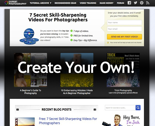 Create Your Own Photography Blog How to Build a Photography Blog and Find More Clients