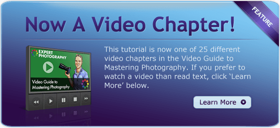 Now a Video Chapter Ad How Understanding Metering Modes will make Exposure Easier