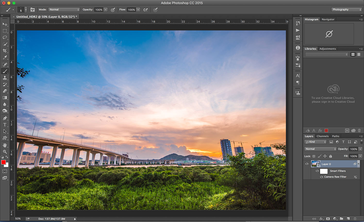 Photoshop - HDR software