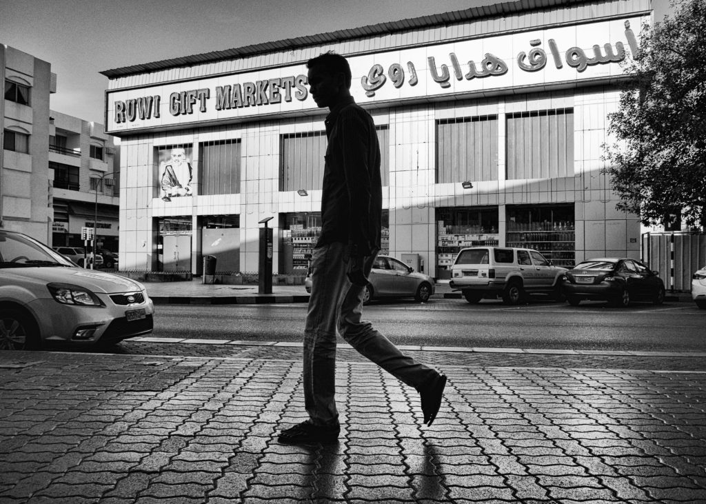 What is street photography - Ruwi High Street Oman by Imran Zahid