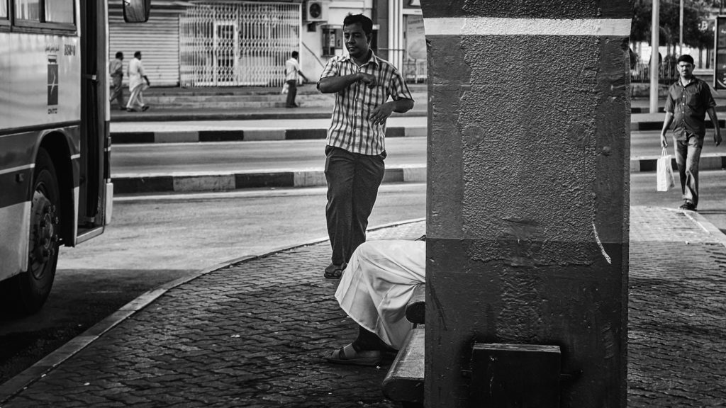 What is street photography - The Bus Stand by Imra Zahid