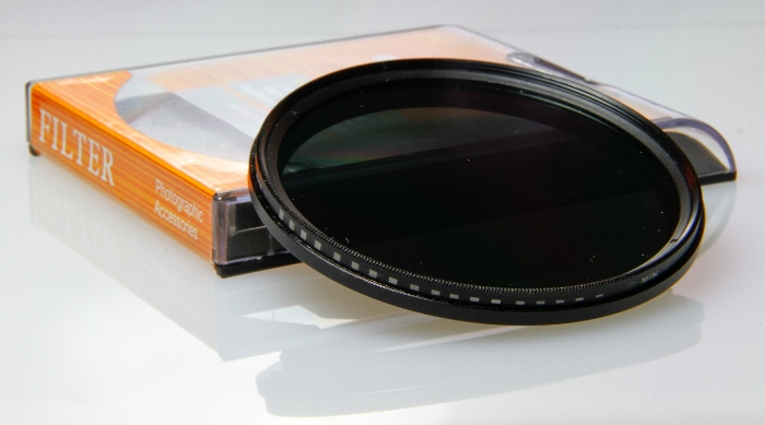 neutral density filter with box