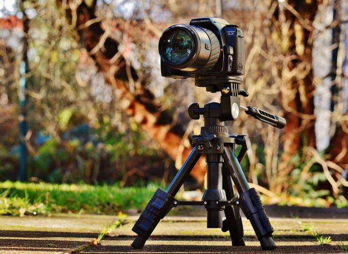 small tripod outdoors