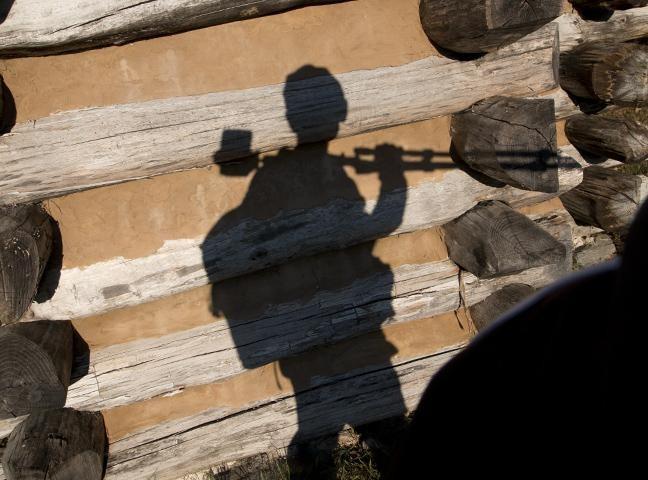 Una imagen que muestra una silueta a modo de selfie.