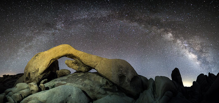 Post Processing Milky Way Photography Clarity Saturation
