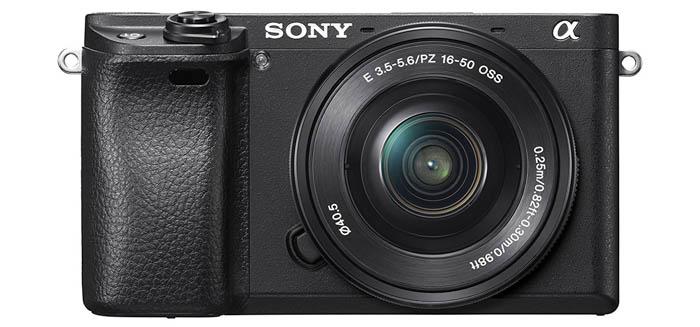 the Sony A6300 camera