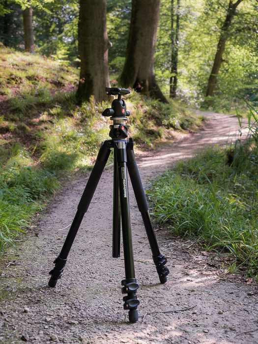 Tripods for Landscape Photography: example of Manfrotto 055XPROB in the field