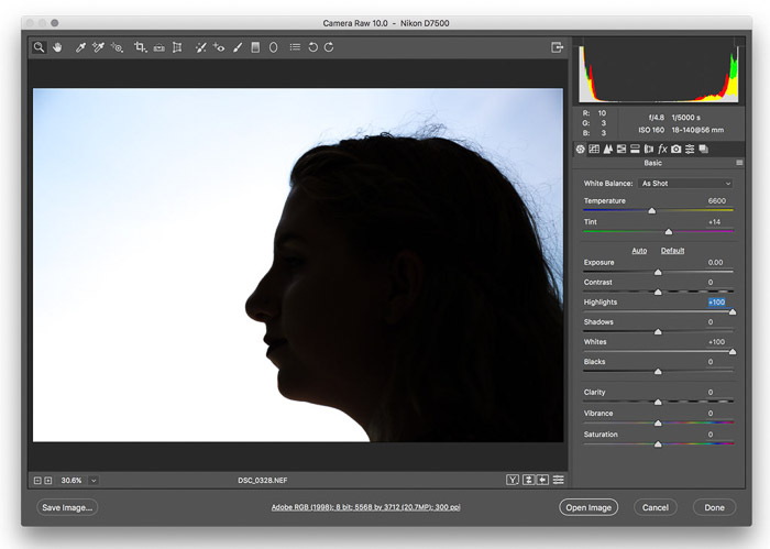 A screenshot showing how to create a double exposure effect in Adobe Photoshop