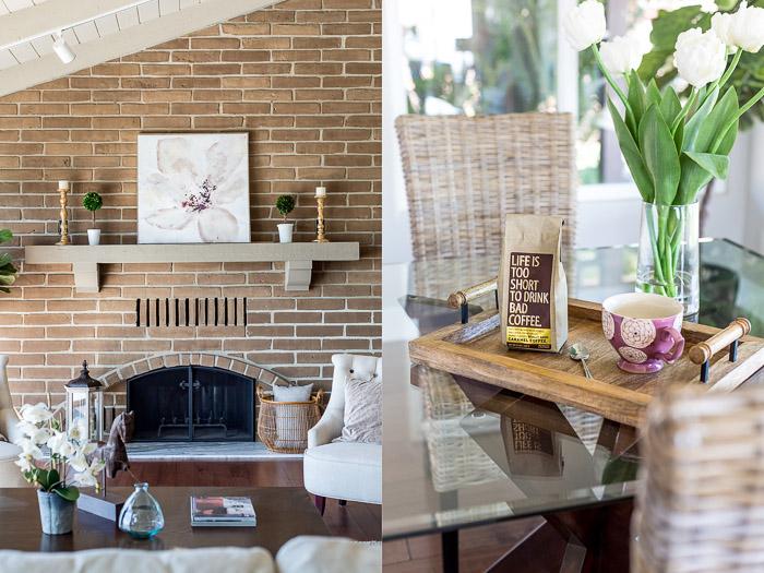 Las vistas rectas pueden crear un efecto agradable para la fotografía de arquitectura de interiores.