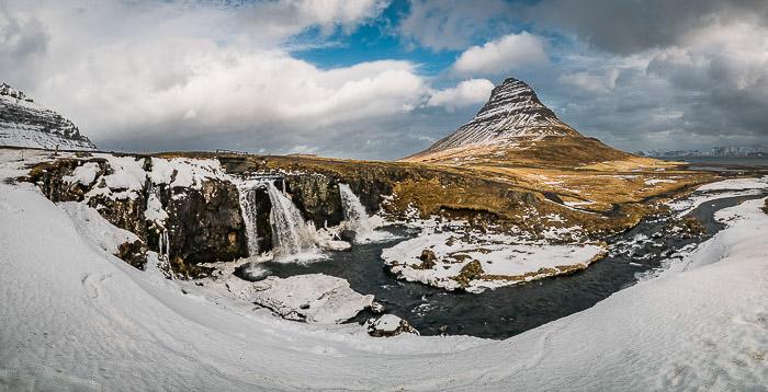 Photo of the Kirkjufellsfoss, taken during Casey Kiernan's Iceland Photography Workshop