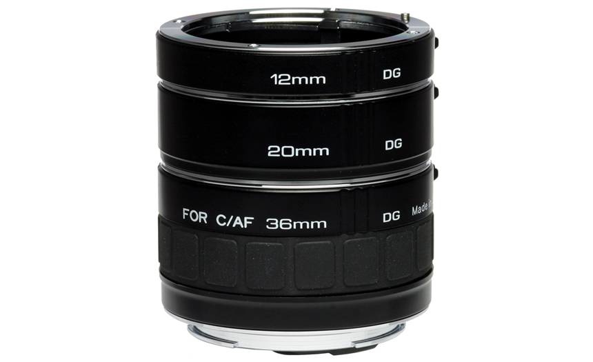 Modular extension tubes to enhance macro photography lenses