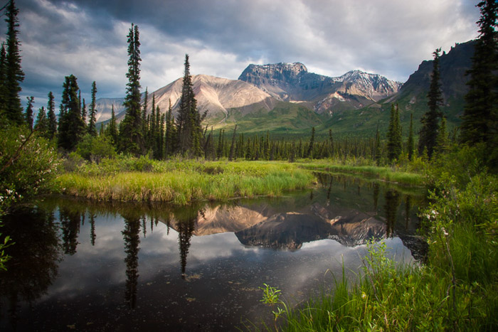 Example of Center-weighted Metering in landscape photography of St Elias Park - Landscape Photography Exposure