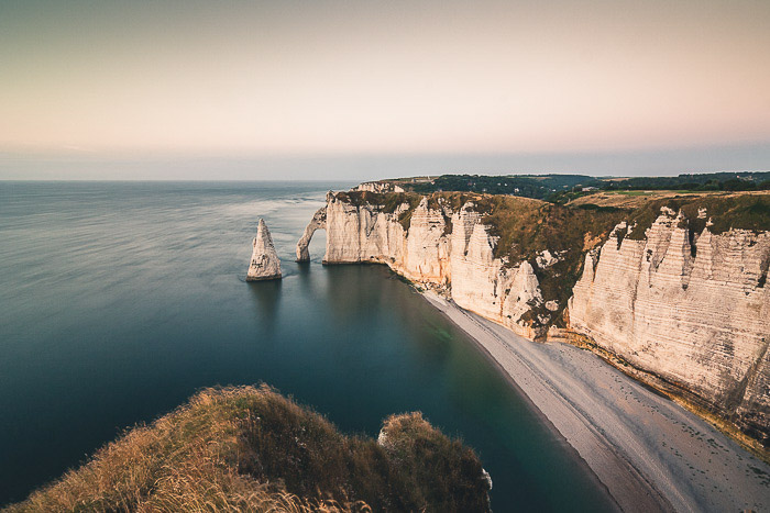 White cliffs to show the important of seasonal landscape photography