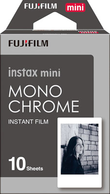 Instax mini monochrome film photography gift