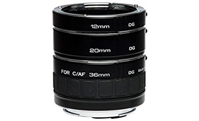 These extension tubes are a great gift idea for macro photographers