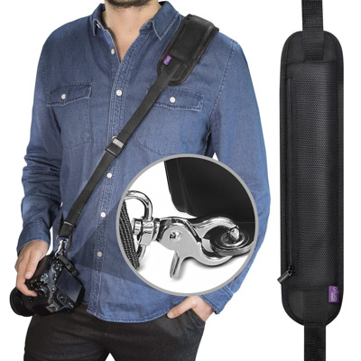 This altura neck strap is a great gift for a photographer