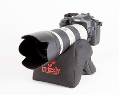 The grizzy beanbag is a great gift idea for a photographer