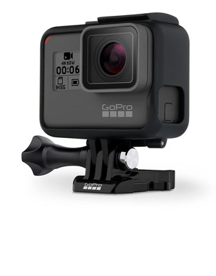The Go Pro Hero 6 is a great gift for photographers
