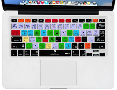 This laptop keyboard skin is a perfect gift for photographers