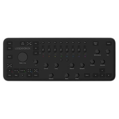 the loupedeck is a great gift for photographers who like to edit