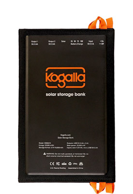 The Kogalla solar panel and battery is the perfect photography gift