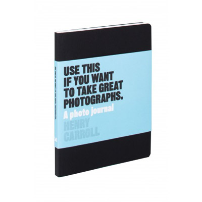 This journal by Henry Carroll is a great gift for photographers