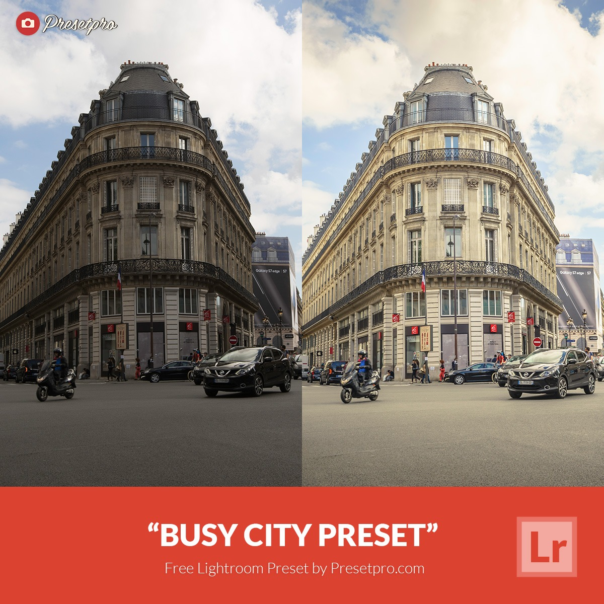 Free Lightroom presets for architecture photography