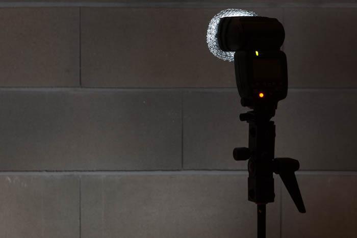 DIY light diffuser