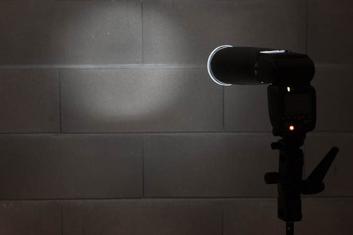 diy photography soft spotlight