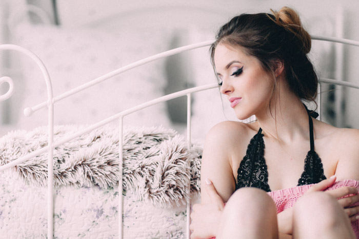 Both the 35mm and the 50mm lenses are great choices for your boudoir photography