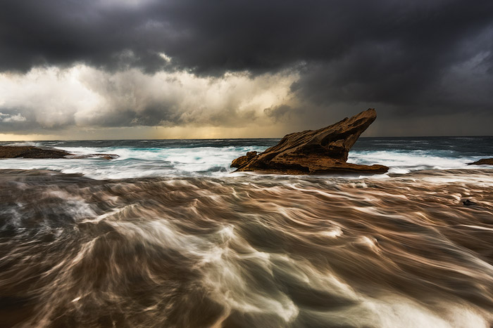flowing water action - Seascape Photography