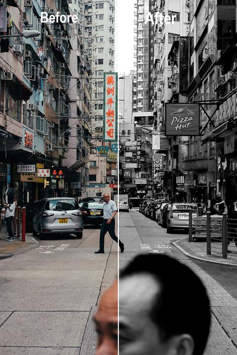 Como fazer uma imagem em preto e branco no Photoshop e Lightroom