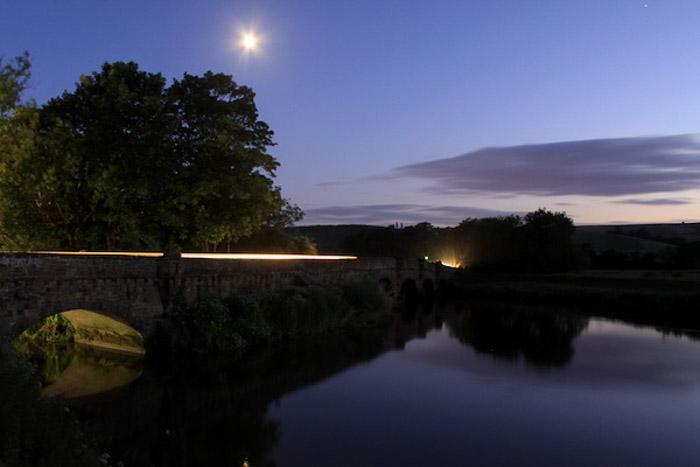 A Lake At Twilight shot using Evaluative Metering Mode