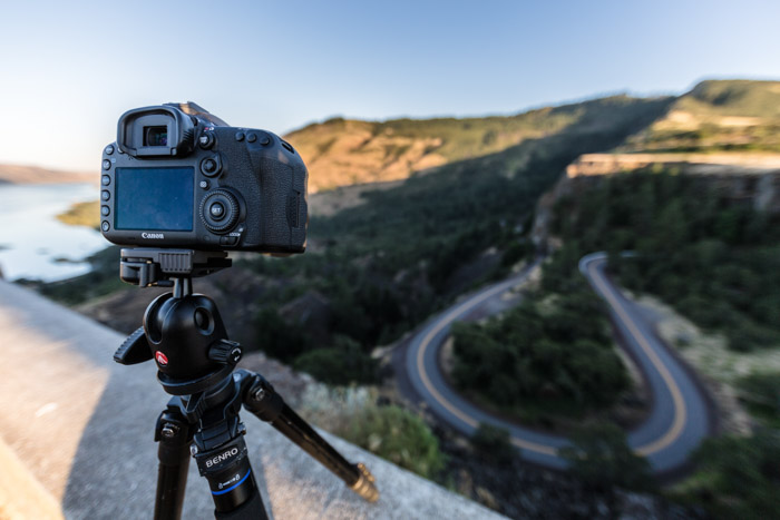 Shooting a time-lapse photography project from a high-vantage point