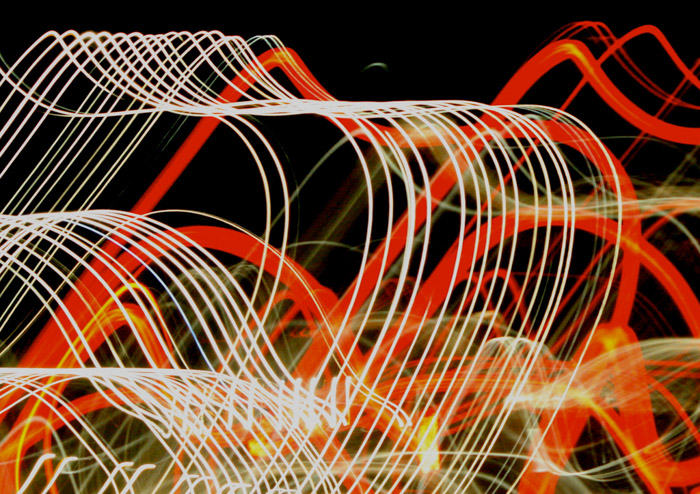 Using light can create interesting abstract photography