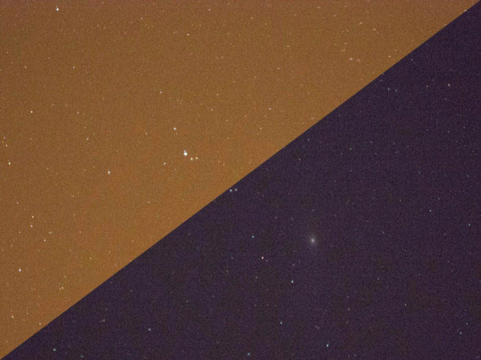 LPR light pollution filter effect