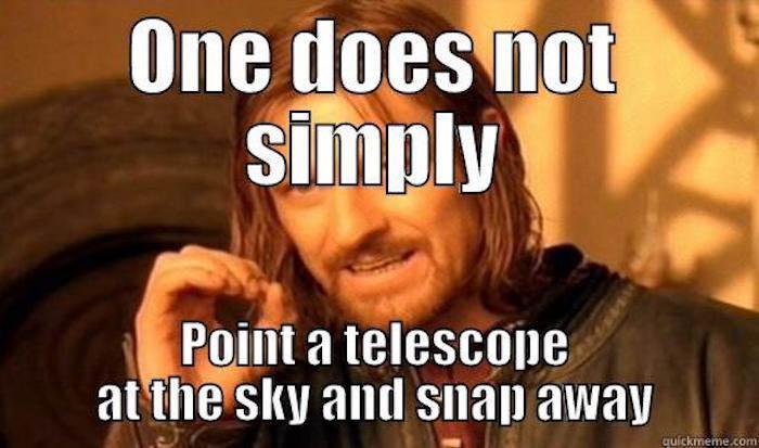 Deep Sky Astrophotography Meme