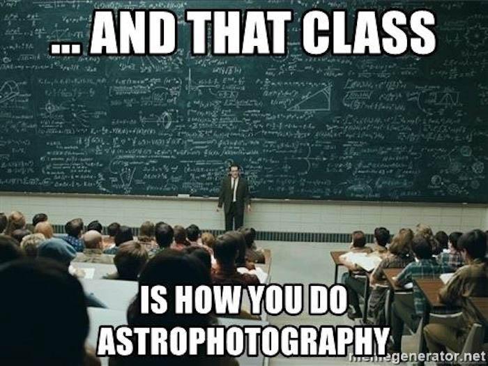 Deep Sky Astrophotography Memes