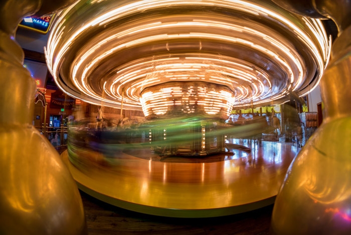 Creating blur in your image is a great way to show movement in your abstract photography