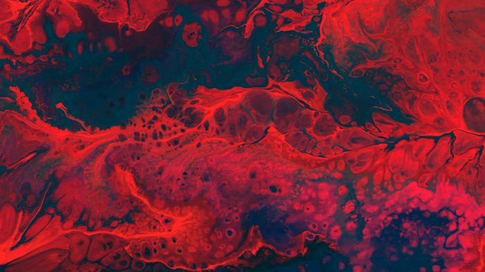 Foto abstrata oleosa vermelha e preta