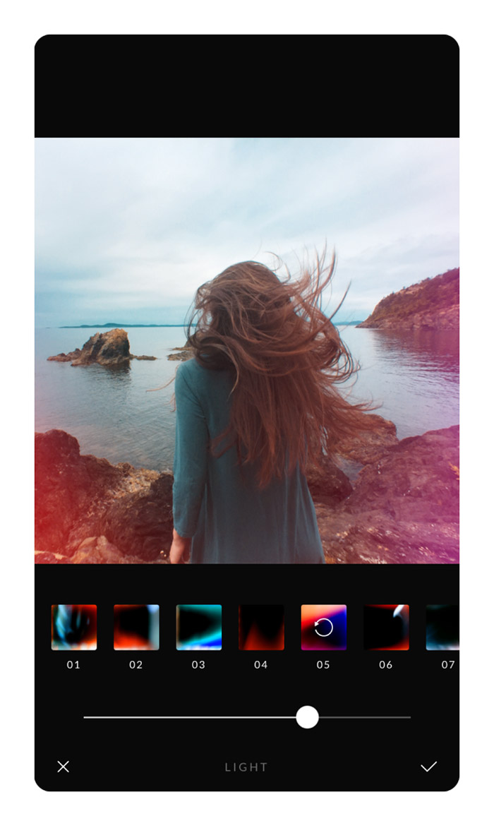 editing smartphone photography with Afterlight app