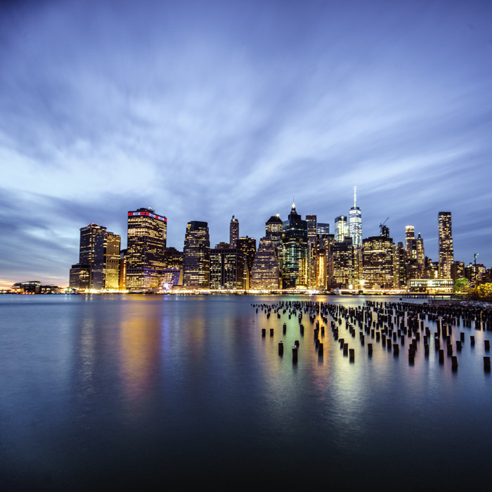 Cityscapes are a great way to show a structure with accompanying buildings full of texture
