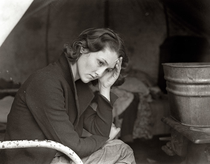 Dorothea Lange female photographer