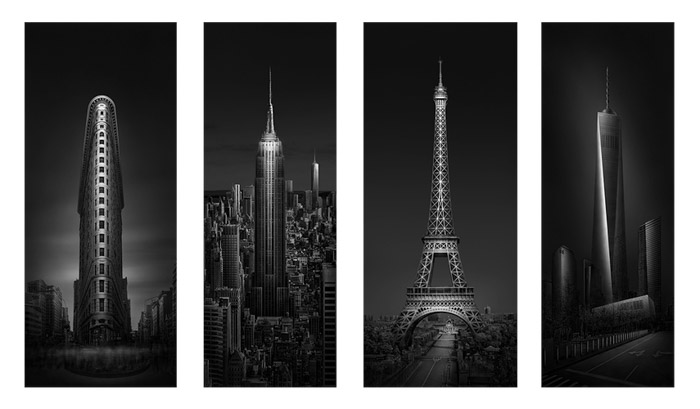 Architectural photography grid - fine art photography