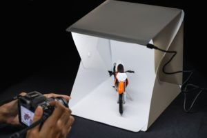 a photography light box