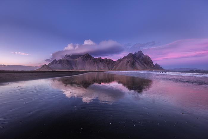 Uma Incrível Islândia Fotografia Imagem de Paisagem